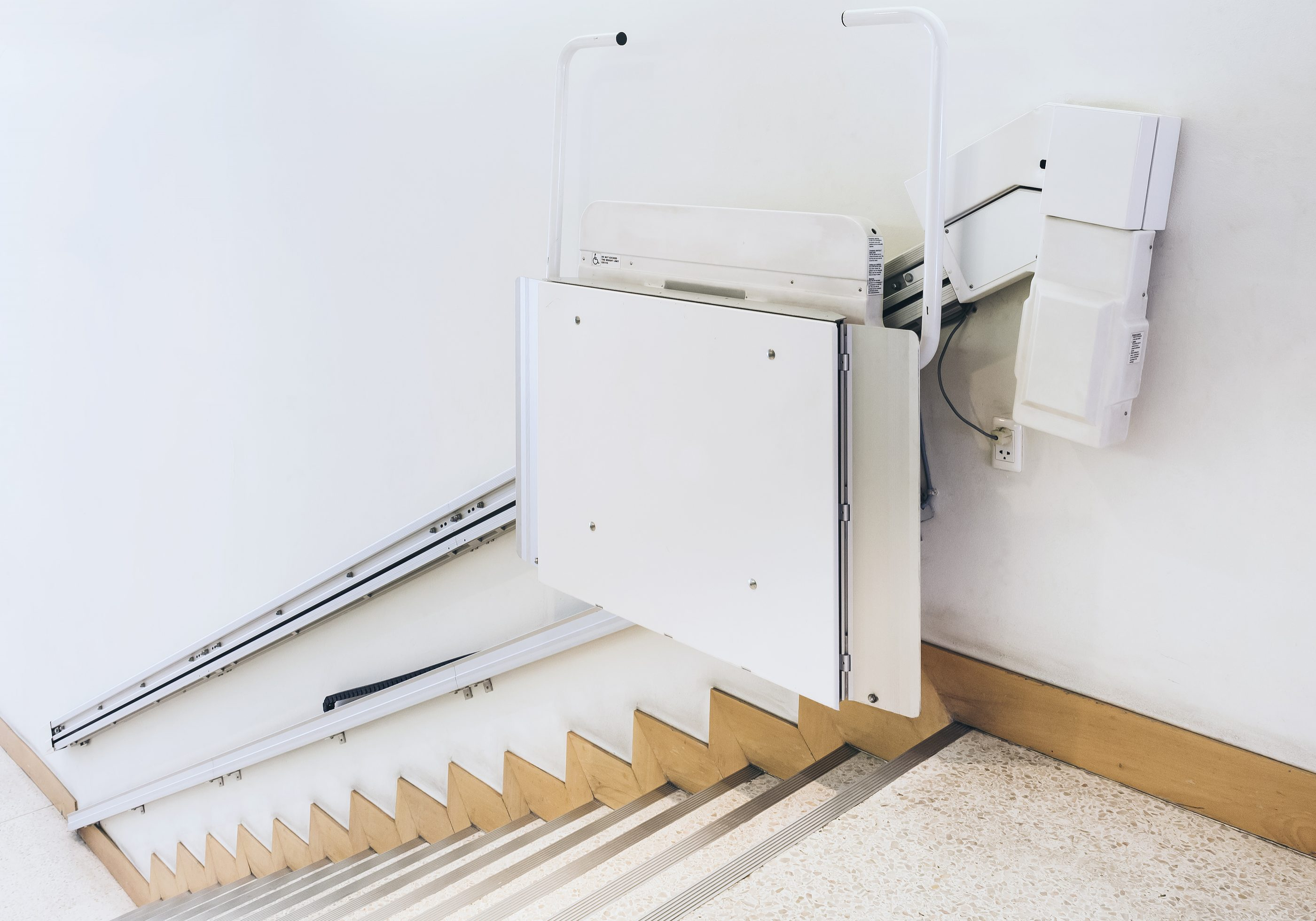 Disability stairs lift facility in Public Building
